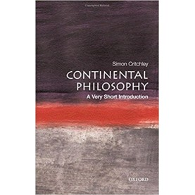 CONTINENTAL PHILOSOPHY: VSI by SIMON CRITCHLEY - 9780192853592