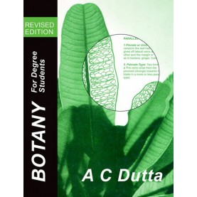 BOTANY FOR DEGREE STUDENT R/Ed by DUTTA  A. C. - 9780195637489