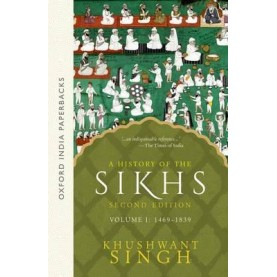 A HISTORY OF THE SIKHS VOL 1 - 2ED by SINGH, KHUSHWANT - 9780195673081