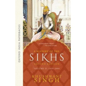 A HISTORY OF THE SIKHS VOL 2- 2ED by SINGH, KHUSHWANT - 9780195673098