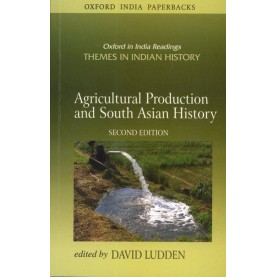 AGRI. PROD & SOUTH ASIAN  HISTORY (OIP) by LUDDEN, DAVID - 9780195677003