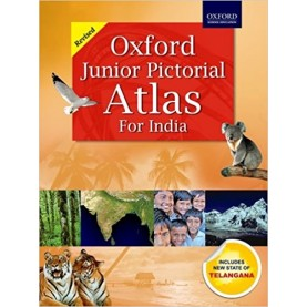JUNIOR PICTORIAL ATLAS by OXFORD - 9780195684209