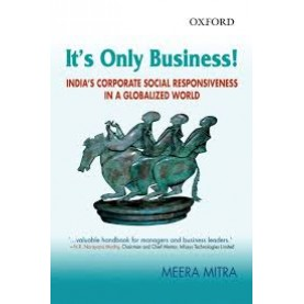 IT'S ONLY BUSINESS (OIP) by MITRA,MEERA - 9780198060260