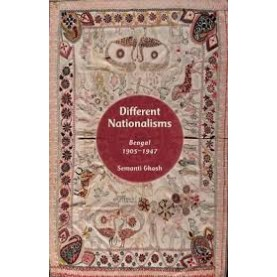 DIFFERENT NATIONALISMS by SEMANTI GHOSH - 9780199468232