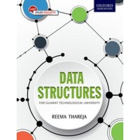 DATA STRUCTURES (GTU) by REEMA THAREJA - 9780199470600