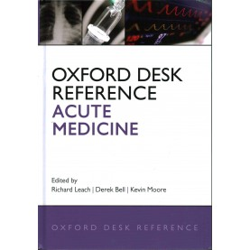 ACUTE MEDICINE DRS C by EDITED BY LEACH, MOORE & BELL - 9780199565979