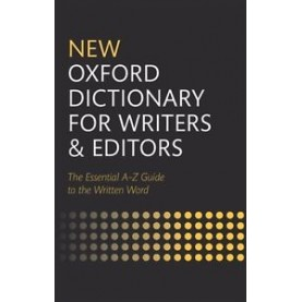 NEW OXF DICT FOR WRITERS & EDIT 2E REV C by OXF - 9780199570010