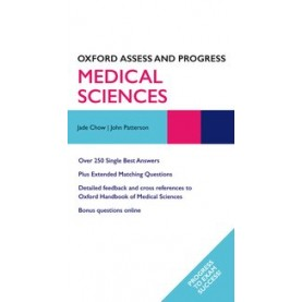 MEDICAL SCIENCES by JADE CHOW AND JOHN PATTERSON, KATHY BOURSICOT AND DAVID SALES - 9780199605071