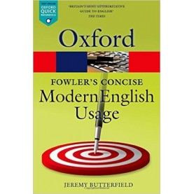 FOWLER`S CONC DICT MOD ENG 3E OQR:NCS P by EDITED BY JEREMY BUTTERFIELD - 9780199666317