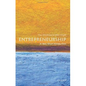 ENTREPRENEURSHIP VSI by PAUL WESTHEAD AND MIKE WRIGHT - 9780199670543