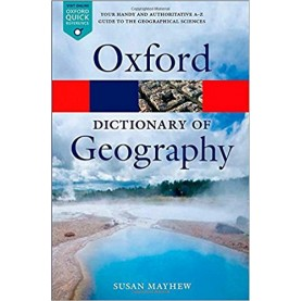 DICT OF GEOGRAPHY 5E OPR P by SUSAN MAYHEW - 9780199680856