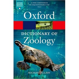 DICT OF ZOOLOGY 4E OPR by MICHAEL ALLABY - 9780199684274