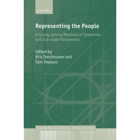 REPRESENTING  PEOPLE by EDITED BY DESCHOUWER & DEPAUW - 9780199684533