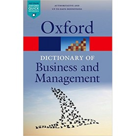 DICT BUSINESS & MANAGEMENT 6E OQR:NCS P by EDITED BY JONATHAN LAW - 9780199684984