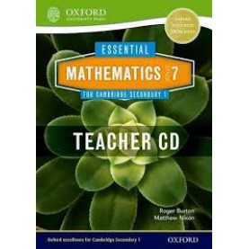 CAMBRIDGE MATHS 1 STAGE 7 TEACHERS CD by . - 9781408519820