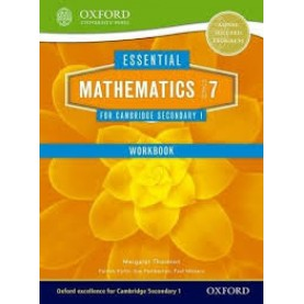 CAMBRIDGE MATHS 1 STAGE 7 WORKBOOK by . - 9781408519844