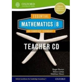 CAMBRIDGE MATHS 1 STAGE 8 TEACHERS CD by . - 9781408519851