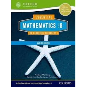 CAMBRIDGE MATHS 1 STAGE 8 WORKBOOK by . - 9781408519875