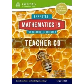 CAMBRIDGE MATHS 1 STAGE 9 TEACHERS CD by . - 9781408519882