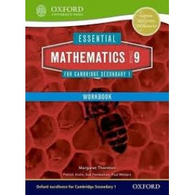 CAMBRIDGE MATHS 1 STAGE 9 WORKBOOK by . - 9781408519905