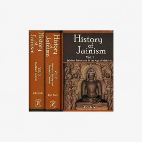 History of Jainism (3 Vols set) by K.C. jain - 9788124605479