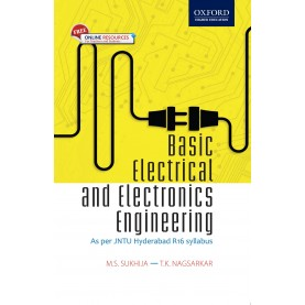 BASIC ELECTRICAL ELECTRONIC ENGG(JNTU-H) by M. S. SUKHIJA & T.K. NAGSARKAR - 9780199474288