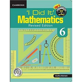 'I Did It' Mathematics  Level 6 Teacher's Book with TRP  9781316608890