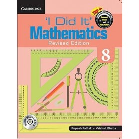 'I Did It' Mathematics  Level 8 Student's Book 9781316603796