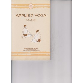 Applied Yoga-M. L. Gharote-9788189485030