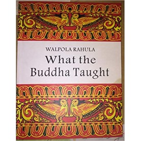 What the Buddha Taught-Walpola Rahula-Gordon Fraser-9789559219194